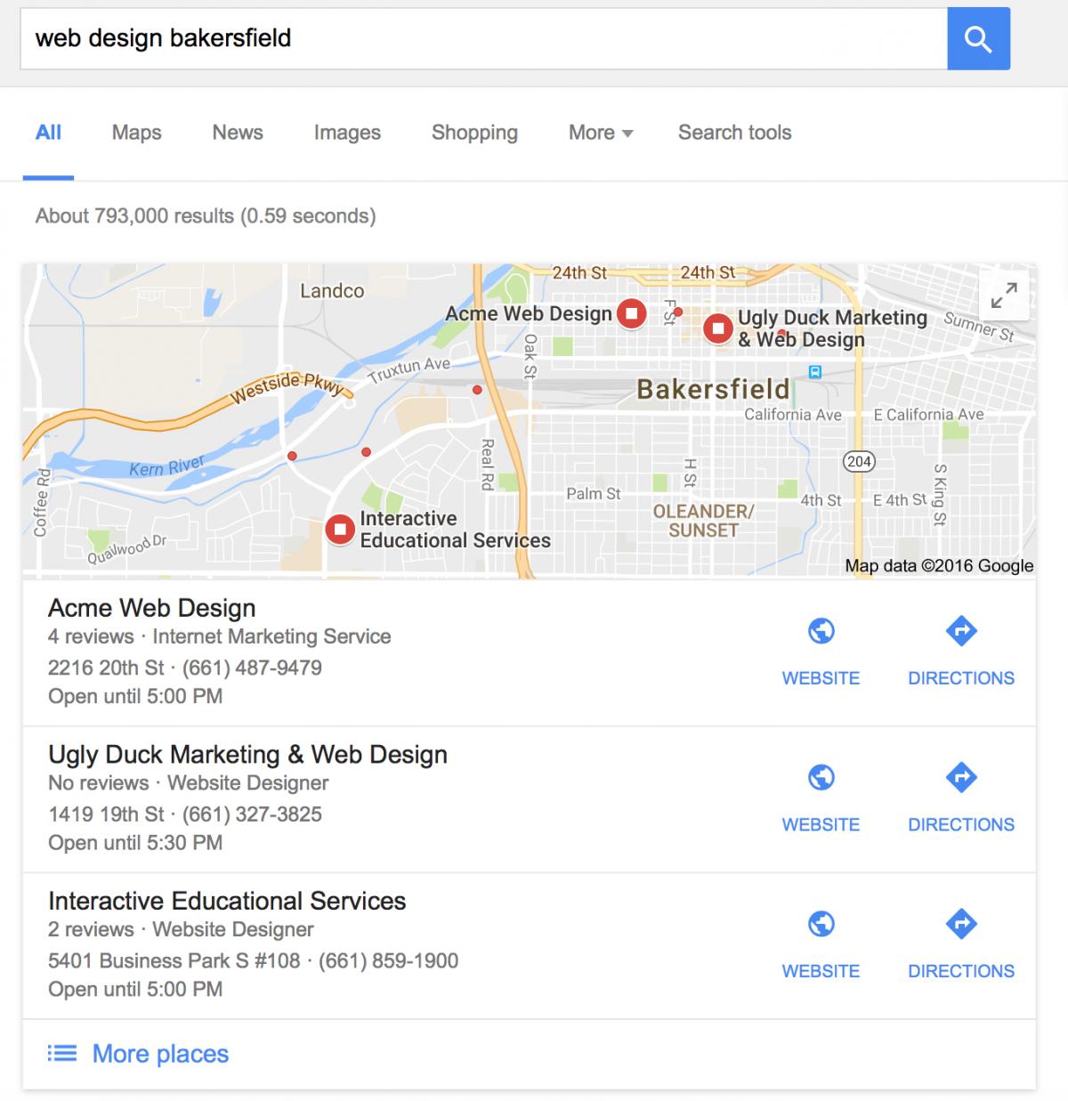 Bakersfield Marketing Agency, Bakersfield Web Design, ACME